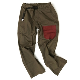 케일_크롭 컴피 팬츠 CAYL cropped comfy pants / Brown